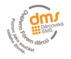 DMS Dárcovská sms